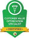 Cutomer Value optimization specialist Certified