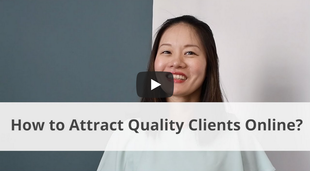 How to attract quality clients online