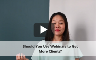 hould You Use Webinars to Get More Clients