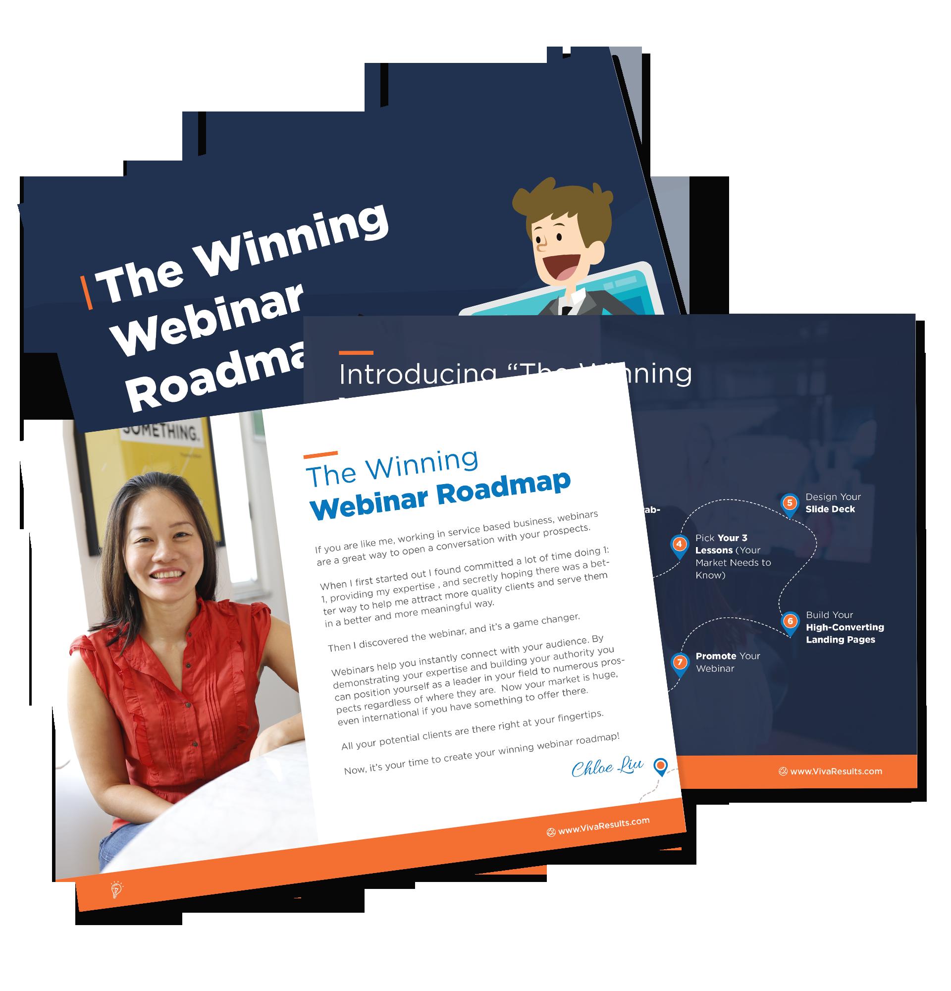 Winning Webinar Roadmap